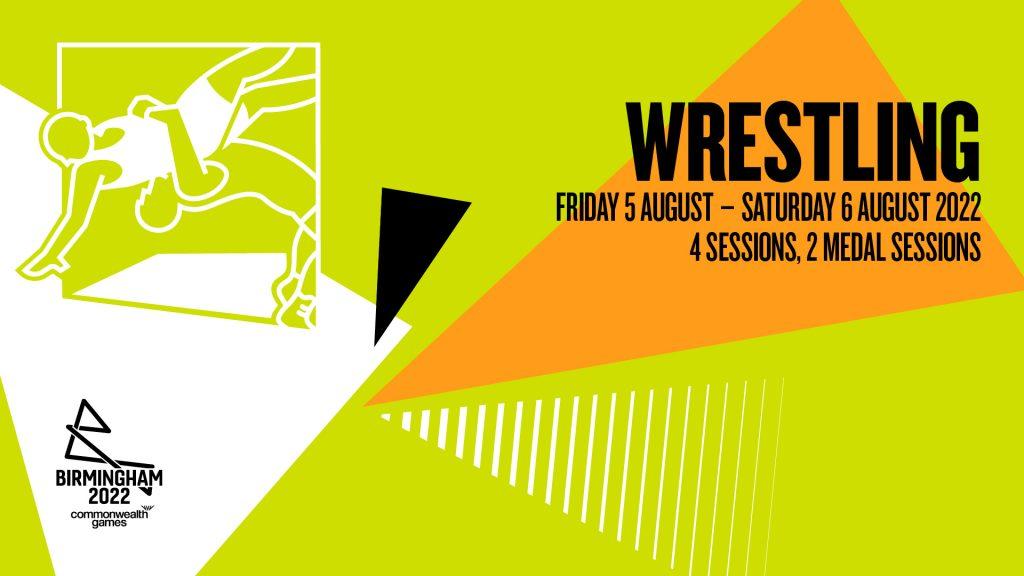 Birmingham 2022 Wrestling Schedule Fri 5 - Sat 6 August 2022
